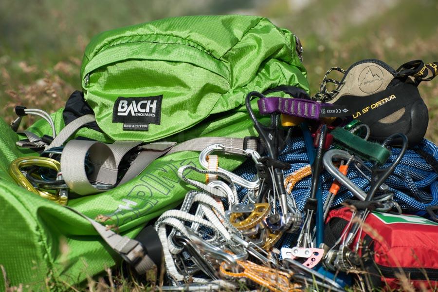 Katalogfotografie für Bach Backpacks und die Outdoor-Insider-Gruppe, Wallis, Schweiz. © Jan Bosch