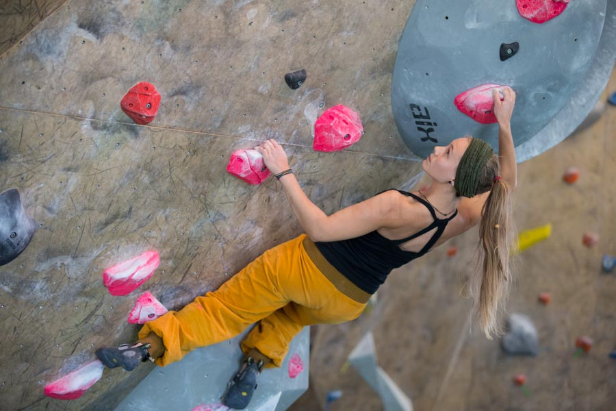 Shooting für level 8 - die Boulderhalle in Giessen. © Jan Bosch
