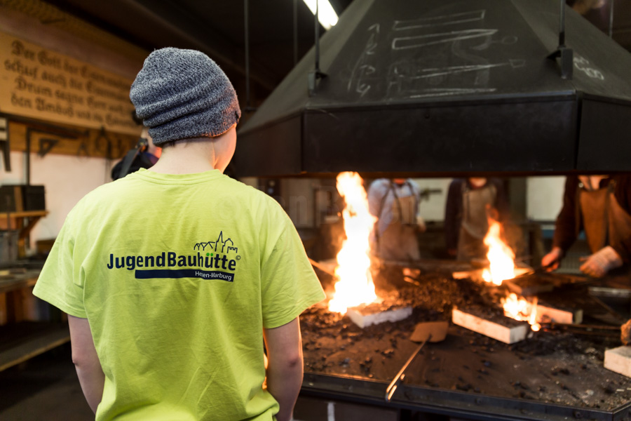 Freiwilliges Soziale Jahr in der Denkmalpflege der Jugendbauhütte Marburg. (Deutschen Stiftung Denkmalschutz e.V. in Trägerschaft der ijgd). © Jan Bosch © Jan Bosch