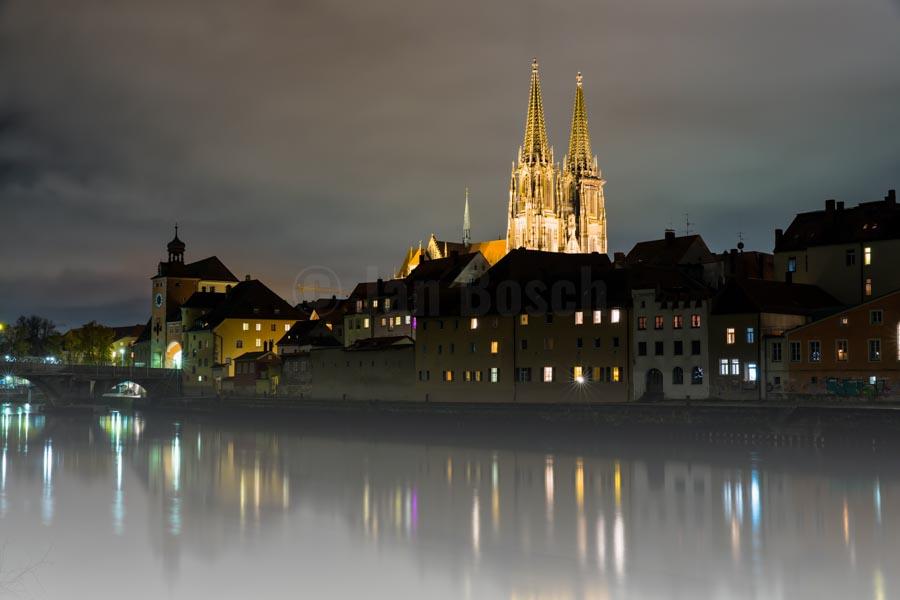 Stadtansicht von Regensburg. © Jan Bosch