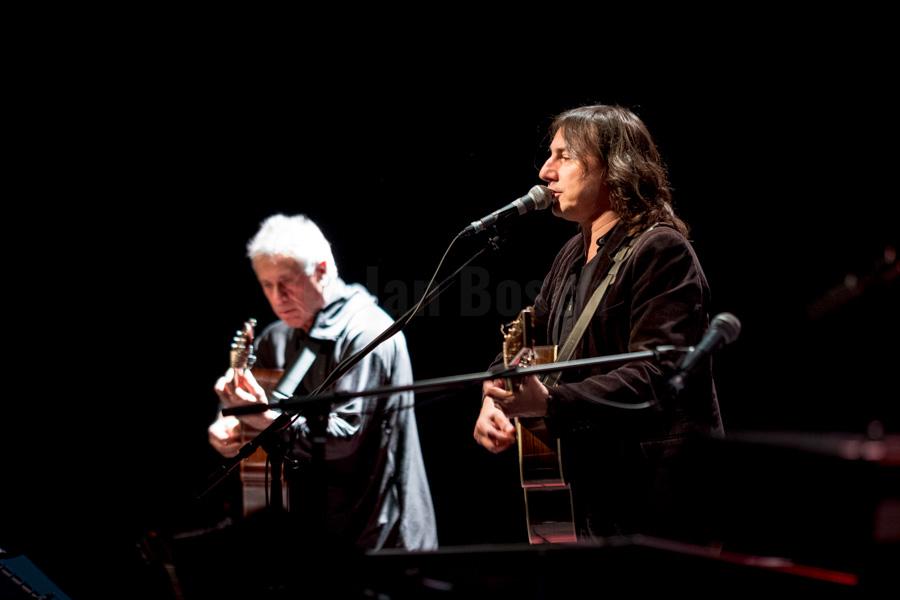 Der italienische Liedermacher Pippo Pollina bei einem Auftritt im Kulturladen KFZ in Marburg, 25.11.2017. © Jan Bosch