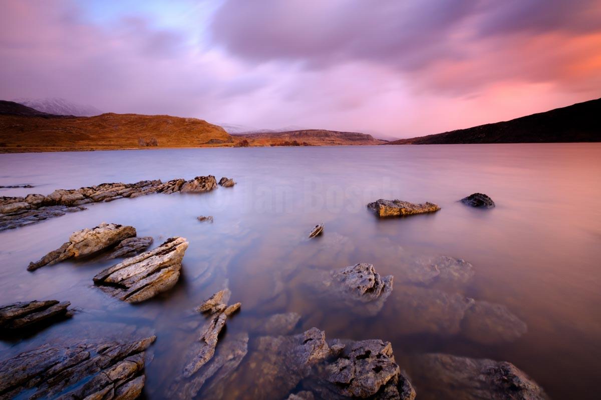 Loch Assynt, Scotland. © Jan Bosch