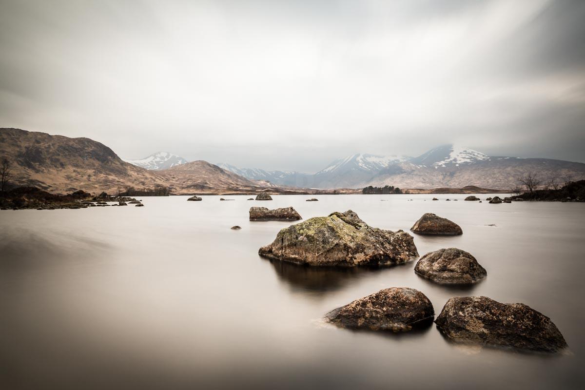 Lochan na h-Achlaise, Scotland. © Jan Bosch