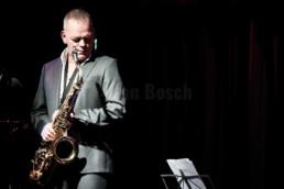 Karl Seglem bei einem Auftritt im Kulturladen KFZ in Marburg, 1.11.2016. © Jan Bosch