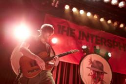 Die Mannheimer Rockband The Intersphere bei einem Auftritt im Kulturladen KFZ in Marburg am 31.1.2019. © Jan Bosch