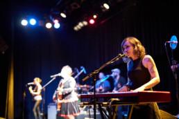 Die spanische Band Amparanoia bei einem Konzert im Kulturladen KFZ in Marburg, 5.2.2019. © Jan Bosch