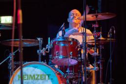 Die deutsche Rockband Keimzeit bei einem Auftritt im KFZ am 20.3.2019 in Marburg. © Jan Bosch