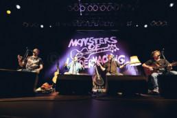 Die deutsche Band Monsters of Liedermaching bei einem Auftritt im Kulturladen KFZ in Marburg am 26.4.2019. © www.janbosch.de