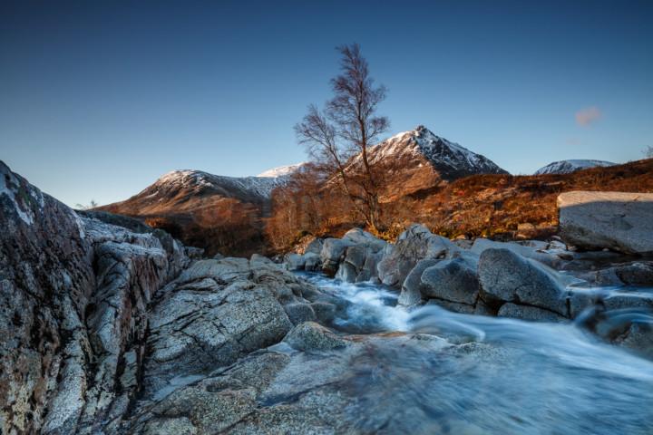 River Eitive im Glen Coe, Schottland. © Jan Bosch