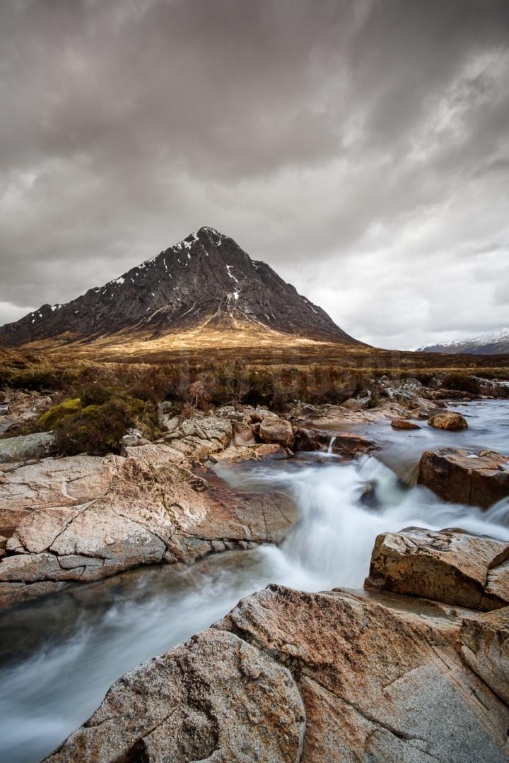 River Etive im Glen Coe, Schottland. © Jan Bosch