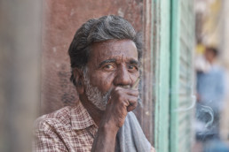 Porträt aus Rajasthan, Indien. © Jan Bosch