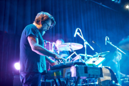 Die deutsche Indie-Band The Notwist bei einem Konzert im Kulturladen KFZ in Marburg am 1.5.2019. © www.janbosch.de