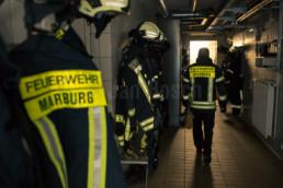 Imagekampagne für den Fachdienst Brandschutz der Stadt Marburg © Jan Bosch