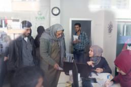 Dokumentation verschiedener Projekte der Gesellschaft für internationale Zusammenarbeit (GIZ) zur Unterstützung syrischer Flüchtlinge in der südlichen Türkei © Jan Bosch