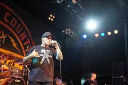 Die Hardcore-Band Ignite aus Orange County, Kalifornien, bei einem Auftritt im Kulturzentrum KFZ in Marburg, 30.6.2019. © www.janbosch.de