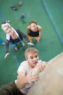 Imagekampagne für doe Boulderhalle Level8 in Gießen © Jan Bosch