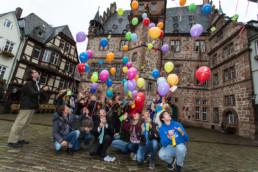 Imagekampagne für die Internationalen Jugendgemeinschaftsdienste (IJGD) © Jan Bosch