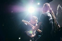 Die mexikanische Band Panteón Rococó bei einem Auftritt im Kulturzentrum KFZ in Marburg am 17.12.2019 © Jan Bosch
