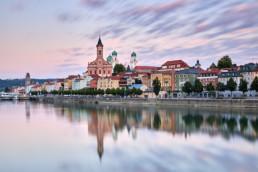 Aufnahme der Altstadt von Passau zum Sonnenuntergang © Jan Bosch