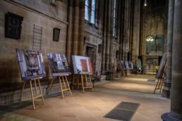 Die Fotoausstellung Kirchen in Marburg ist vom 16.9. bis 20.9.2020 in der Elisabethkirche Marburg zu sehen. © Jan Bosch