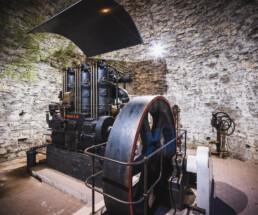 Das Bergbaumuseum Weilburg dokumentiert mit Maschinen, Originalgerät und Bildern die Bergbaugeschichte im Lahn-Dill-Gebiet. Ein besonderes Highlight ist der