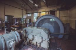 Das Maschinenhaus im GeoInformationszentrum Grube Fortuna in Solms-Oberbiel. © Jan Bosch© Jan Bosch