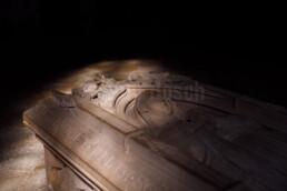 Das 1170 erbaute Kloster Altenberg ist GeoPunkt im Nationalen GEOPARK Westerwald-Lahn-Taunus und liegt auf der liegt auf der GeoRoute Bergmannsroute auf den Spuren des Bergbaus im Lahn-Dill-Gebietes von Wetzlar über das GeoInformationszentrum Besucherbergwerg Grube Fortuna nach Braunfels. © Jan Bosch© Jan Bosch
